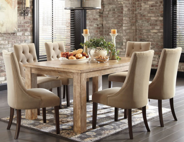amusing-dining-table-and-fabric-chairs-dining-rooms-chairs-plengkisduckdns