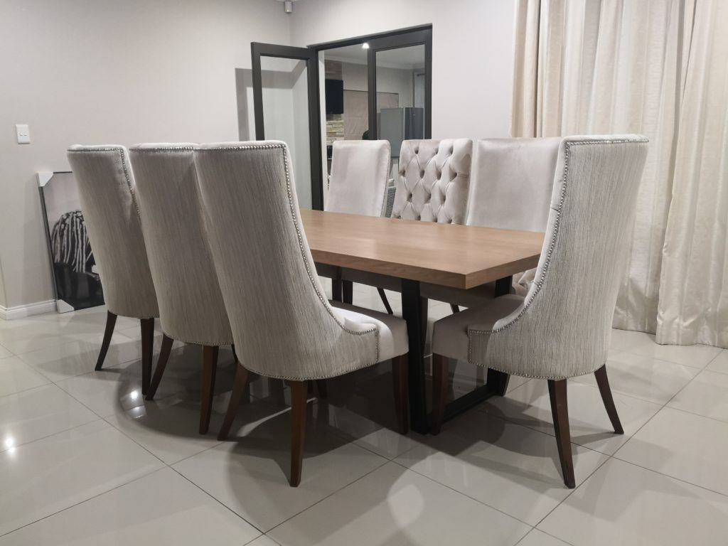 elelwani 6 seater dining table  chivalry designs